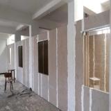 divisória de gesso para construção Parque Residencial da Lapa