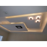 drywall de gesso decorado Alto do Pari