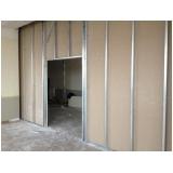 drywall área externa