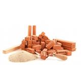 fornecedor de material de construção para reforma Pedreira