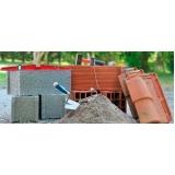 fornecedor de material para construção Ibirapuera