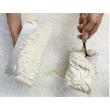 material para aplicação de gesso em isopor preço Rio Pequeno